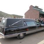 Automobile hearse in FDGD parade
