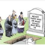 Non Sequitur headstone cartoon