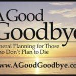 A Good Goodbye color logo