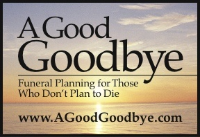 A Good Goodbye color logo