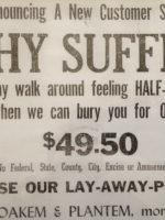 Why suffer half-dead?