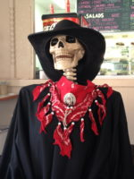 Lola, the ABQ Death Cafe mascot