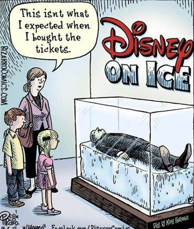A different take on disney on ice a good goodbye for Cleaning out deceased parents home