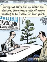 Bizarro on Cryogenics