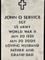 Veteran Headstone Marker