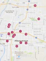 ABQ Festival Map