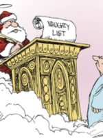 Non Sequitur Santa Saint Peter