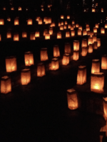 Christmas Eve luminarias