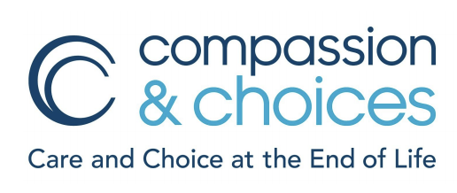 Compassion and Choices logo and tag