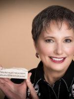 Gail Rubin with motto